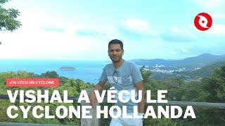 Vishal qui vit à Maurice raconte pourquoi le cyclone Hollanda a changé sa vie