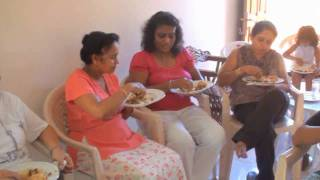 Sinhala New Year in Sri Lanka - Lunch Part 02