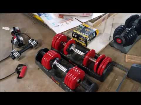 Powerblock vs. Ironmaster vs. Bowflex vs. Vivafit - Dumbbell Review