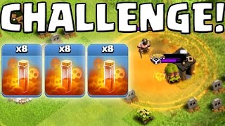 GIFTZAUBER CHALLENGE! || CLASH OF CLANS || Let's Play CoC [Deutsch/German HD Android iOS PC]