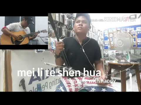 Mei li de shen hua(erhu and guitar cover).ibe my channel