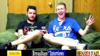 Senses Fail Interview #2  Buddy Nielsen MUST SEE Warped Tour 2012