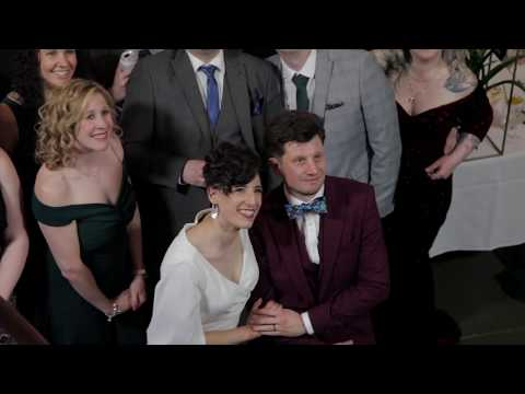 Behind the Scenes video of a Hackney Wedding planned by Perfectly Planned 4 You