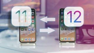 Как откатиться с iOS 12 на iOS 11?