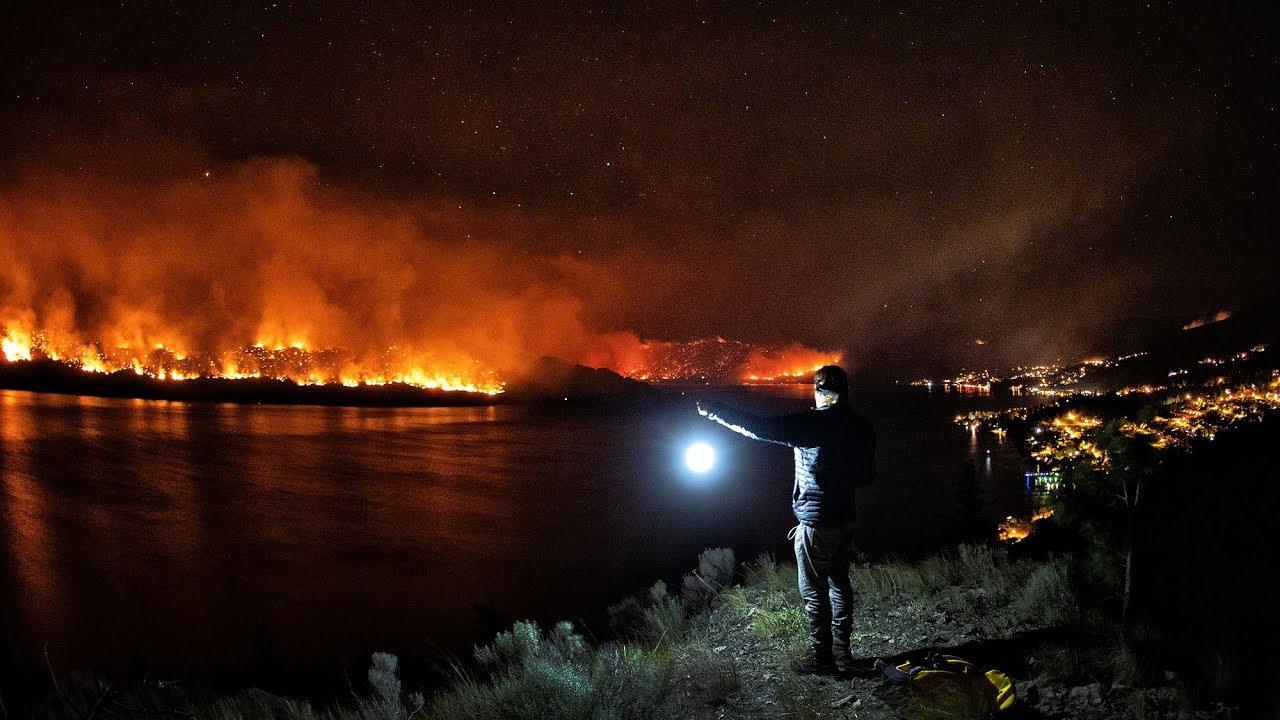 Okanagan Fire Watching. (BC Wild Fires  2018)   YouTube