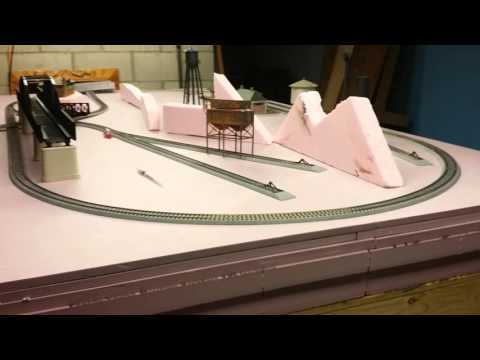 Layout update. Track and building plans