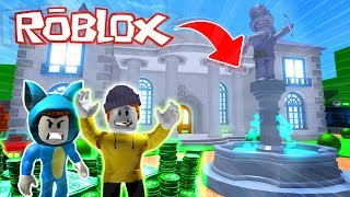 LE MEILLEUR MANSIONLADRONES!! OBBY IN ROBLOX 💙💚💛 BE BE MILO VITA ET ADRI 😍 AMIWITOS