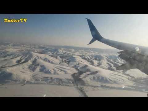 Горно-Алтайск. Горы Алтая, вид с самолёта!
