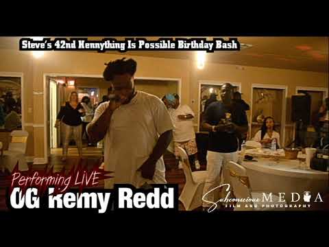 OG Remy Redd performing LIVE