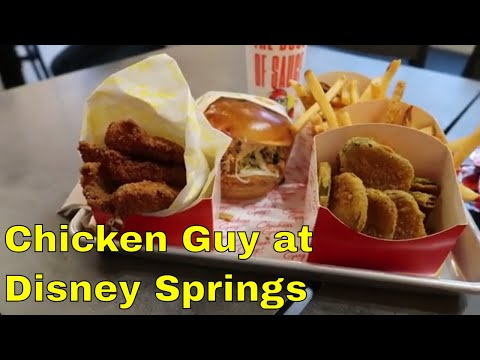 Magical Mondays #58 - Trying Out Chicken Guy at Disney Springs