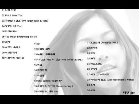 박정현(Lena Park)  30곡