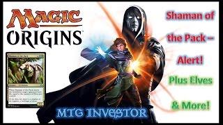 Magic Origins - Shaman of the Pack, Elves &More