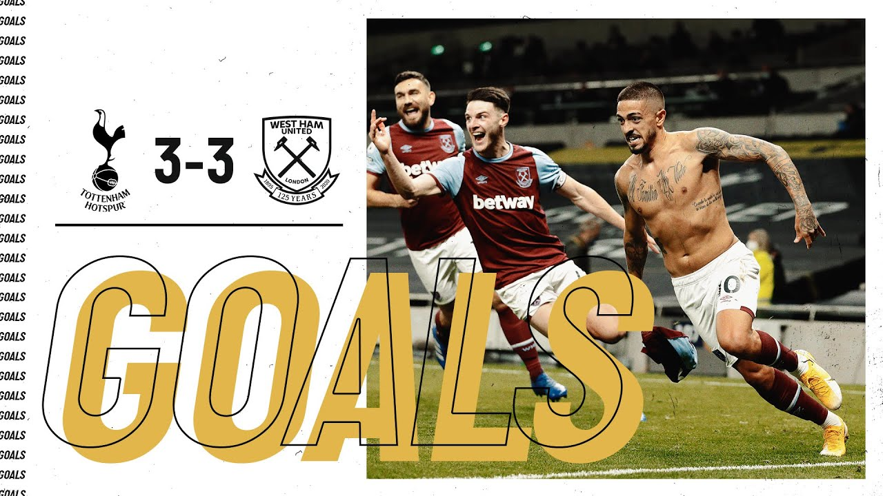 GOALS | SPURS 3-3 WEST HAM UNITED