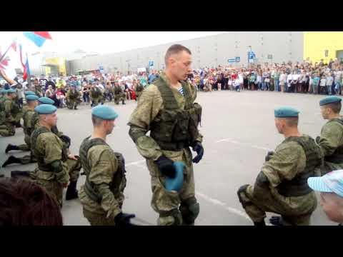 9 мая 2019 г. Показательные выступления Рязанских бойцов ВДВ.