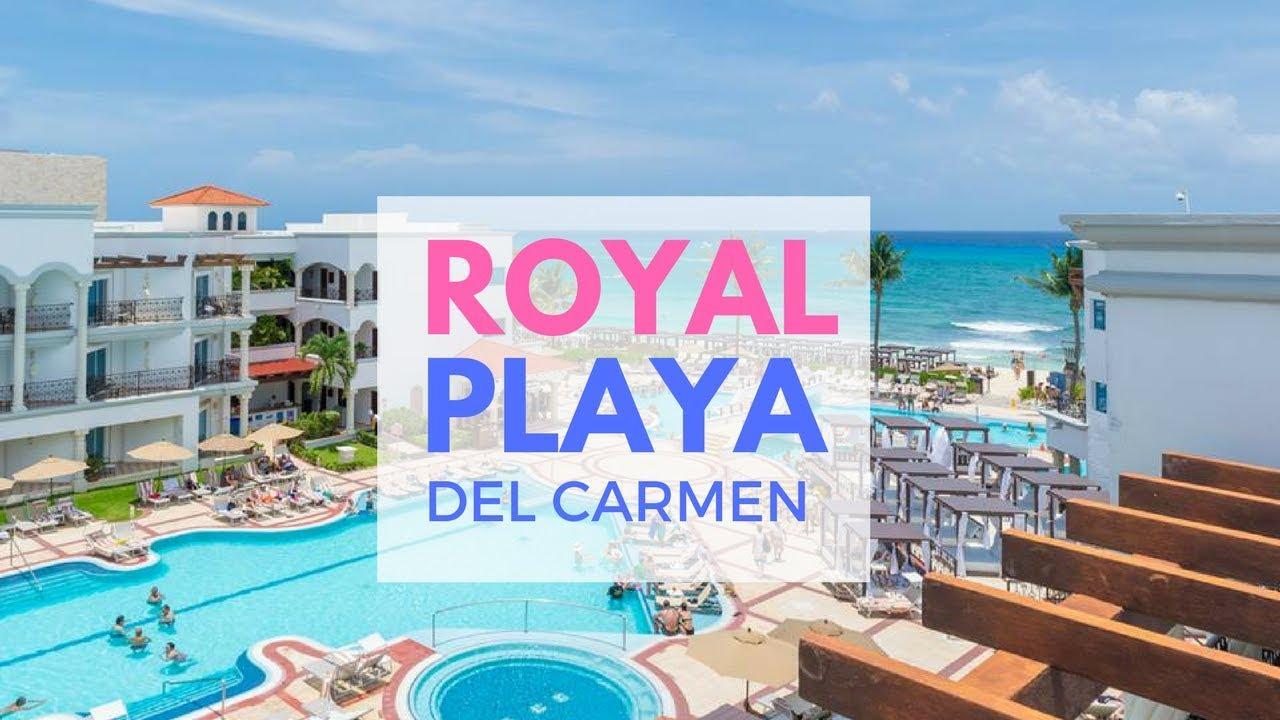 todo incluido en playa del carmen hotel royal playa youtube. Black Bedroom Furniture Sets. Home Design Ideas
