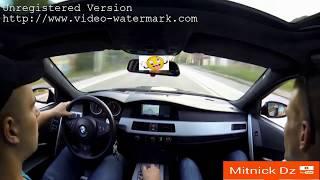 BMW M5 Crazy driving