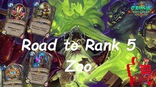Hearthstone: Road to Rank 5 - Zoo Warlock #3: Rastakhan