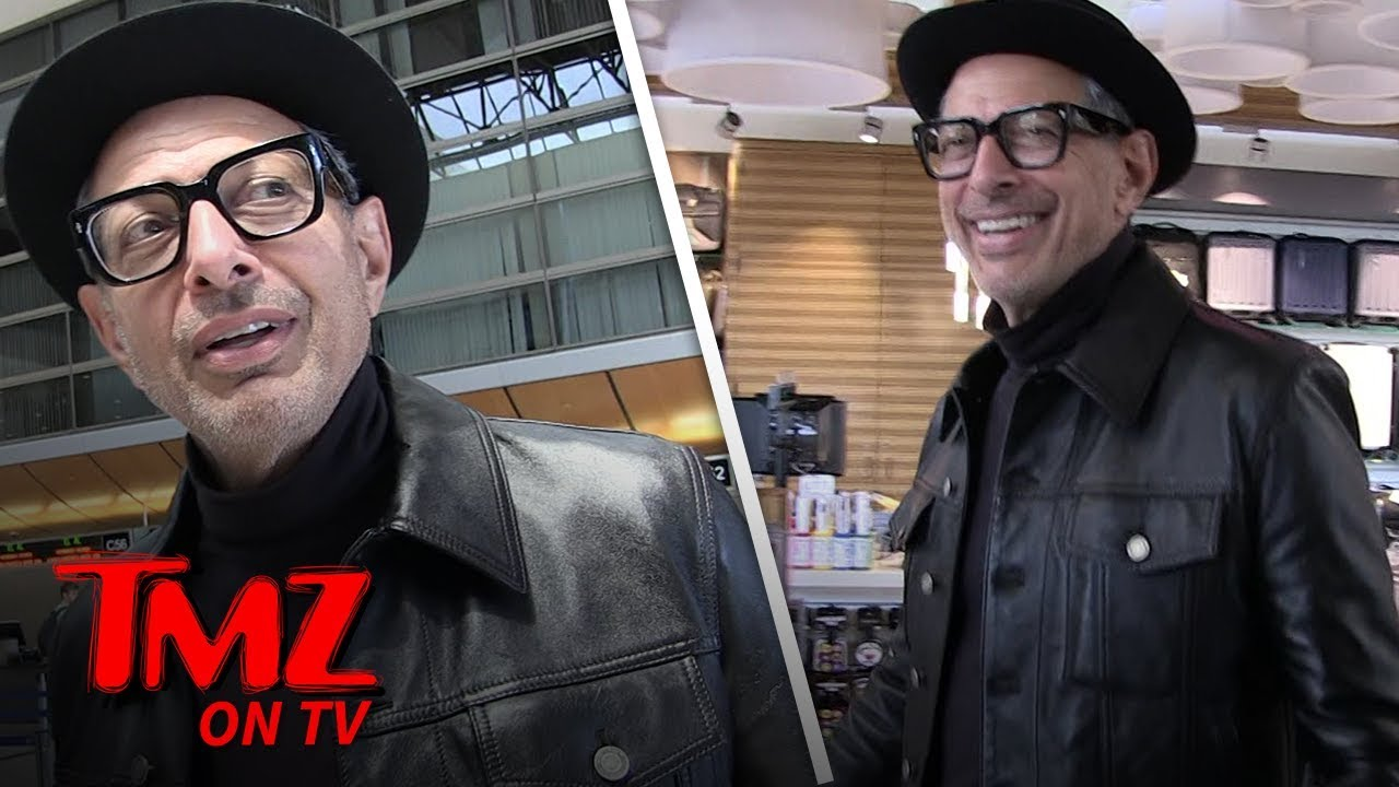 Jeff Goldblum's Swag Is On Another Level | TMZ TV