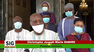 2e Session du Comité national de gestion de la crise de la pandémie de COVID 19 (Burkina Faso)