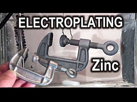 Zinc Electroplating by a Chemist - an effective anti rust solution