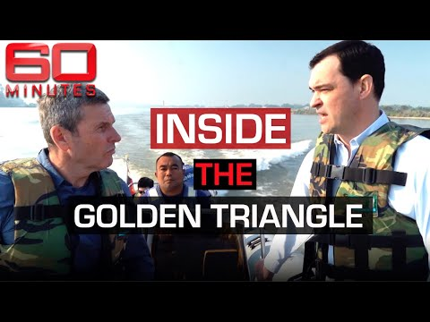 How The Australian Police Track Drug Trafficking From Asia's Golden Triangle | 60 Minutes Australia