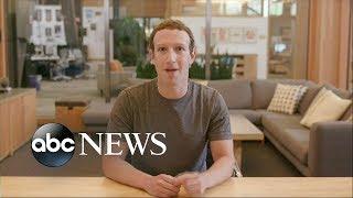 Mark Zuckerberg speaks out on data scandal