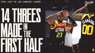 #1 TEAM in the NBA beats the Lakers by 25 | UTAH JAZZ