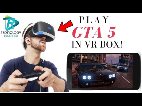 Play GTA 5 in VR BOX! Play PC GAMES IN VR BOX!