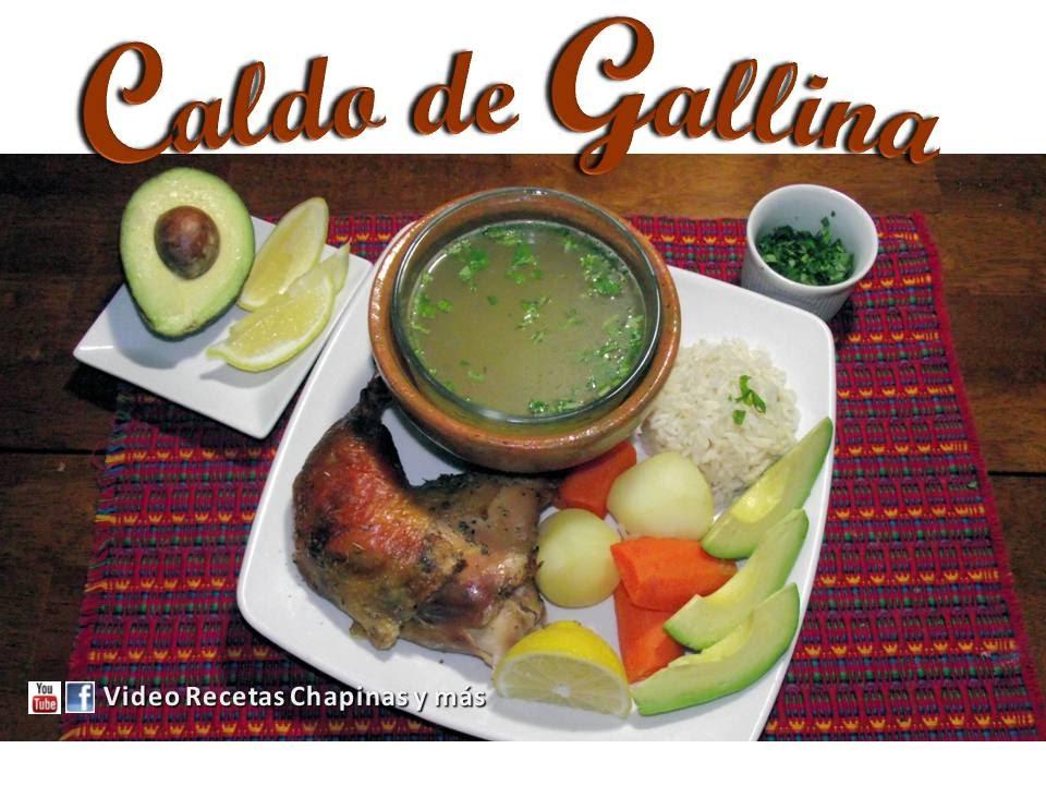 Caldo De Gallina Salvadorena Receta Caldo de...