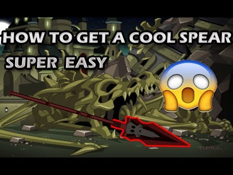 AQW How To Get A Cool Spear!!
