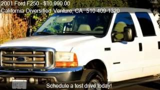 2001 Ford F250 Lariat Crew Cab Short Bed 4wd For Sale In Liv