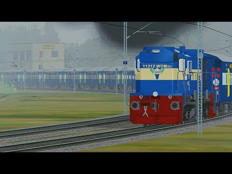 Surat Nagpur Weekly Special Express MSTS Open Rails Full Journey Part 4 Pardesi Gamer