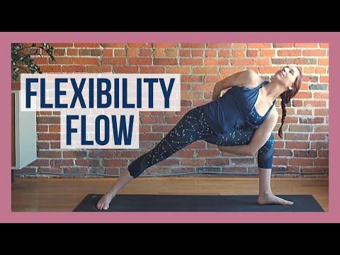 30 min Vinyasa Flow For Flexibility - Slow Flow Yoga Stretch