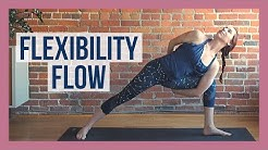 30 min Vinyasa Flow For Flexibility - Slow Flow Yoga Stretch