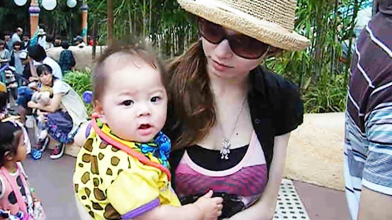 ディズニー いおりくん 赤ちゃん 生後6ヶ月 ディズニーシー ランド