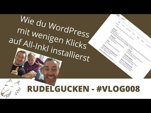 WordPress Installation auf All-Inkl in Deutsch – erfolgswolf