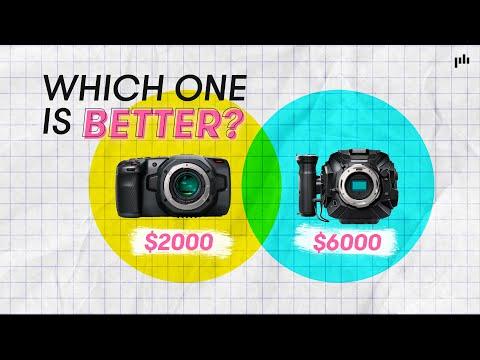 Blackmagic Pocket Cinema Camera 6k vs Ursa Mini Pro G2 | Gear Review
