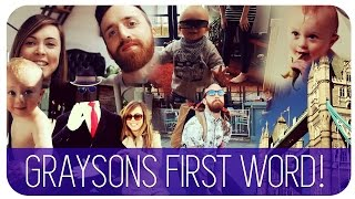 GRAYSONS FIRST WORD | HANNAH MAGGS