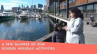 Bengali Vlog-A Few Glimpse Of Our School Holiday Activities!