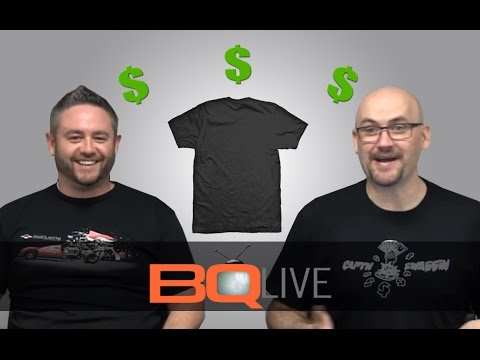 BQLive - Ep: 1 Pricing Garments for Your DTG Business