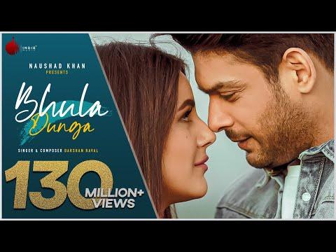 Bhula Dunga - Darshan Raval | Official Video | Sidharth Shukla | Shehnaaz Gill | Indie Music Label