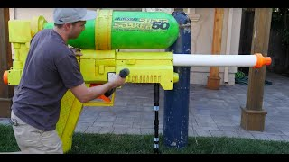 Ex-NASA engineer build's world's largest Super Soaker, and it's 'basically a bomb'