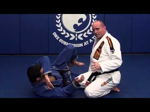 BJJ Vault - Knee Shield Guard Pass with Strong Arm