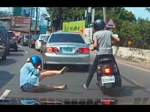Woman Car Crashes Compilation, Women Driving Fail and accidents # 4