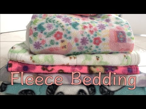 Fleece Bedding Care - How to clean