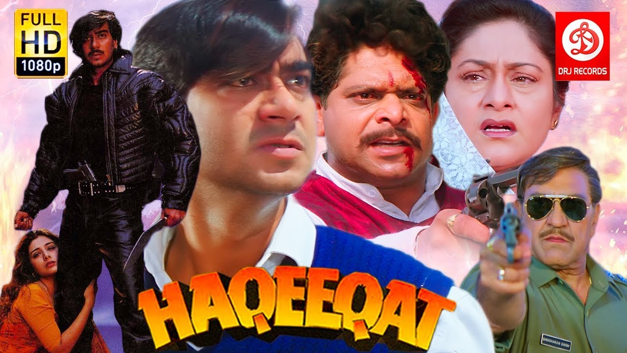 Download Haqeeqat - Bollywood Action Movies | Ajay Devgan, Tabu, Johnny Lever, Amrish Puri | Superhit Movies