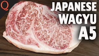 Japanese Wagyu A5 Ribeye Part 1 | Grilled