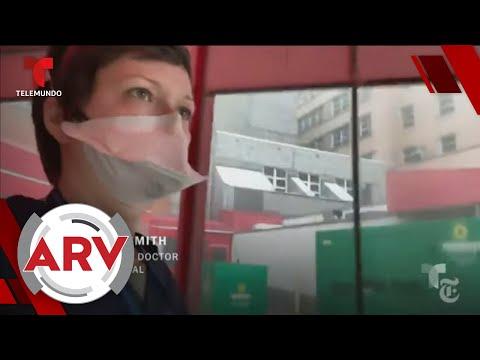 Doctora de Nueva York narra la angustia y pesadilla vivida en los hospitales | Telemundo