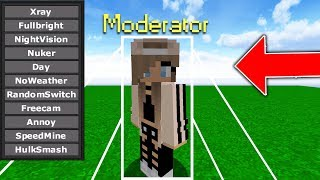 HACKING ON MODS ACCOUNT TO TEST MY STAFF ON MINECRAFT...