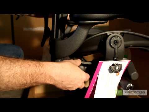 grShop.com Herman Miller Aeron Chair Knock Down Assembly Video